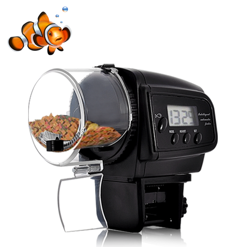 Automatic Fish Feeder with LCD Display (Anti-Jam Design) OA1435